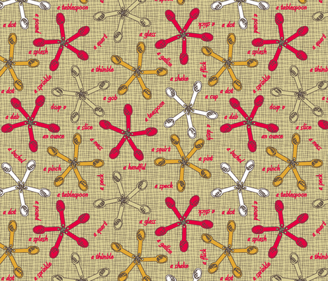 Measurements - They don't add up! 4c+w fabric by glimmericks on Spoonflower - custom fabric