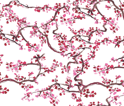 branches fabric by katarina on Spoonflower - custom fabric
