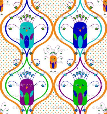 Perky Peacock Parade