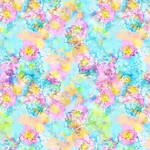 Breezes Watercolor Floral