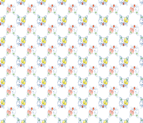 MEOWZER fabric by factoryhands on Spoonflower - custom fabric