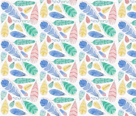 Tread Softly fabric by j9design on Spoonflower - custom fabric