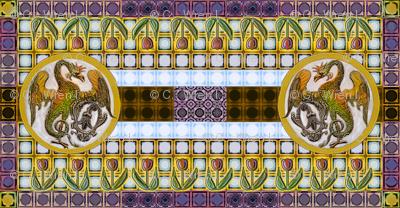 Basilisk Stained Glass