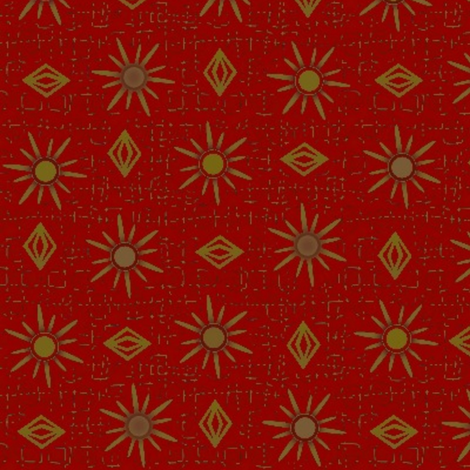 gypsy - large fabric by glimmericks on Spoonflower - custom fabric