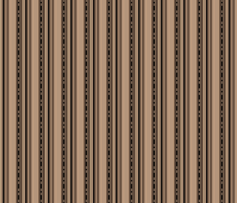 Urbane Brown Stripes © Gingezel™ 2012 fabric by gingezel on Spoonflower - custom fabric
