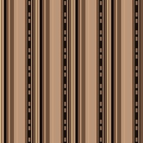 Urbane Brown Stripes © Gingezel™ 2012