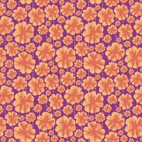 OrangeBloomPattern