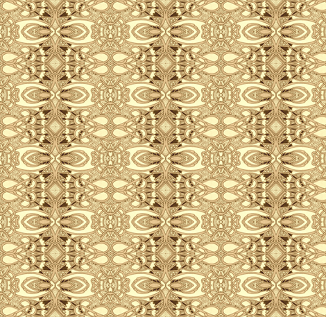 Love in Sepia Lines fabric by edsel2084 on Spoonflower - custom fabric