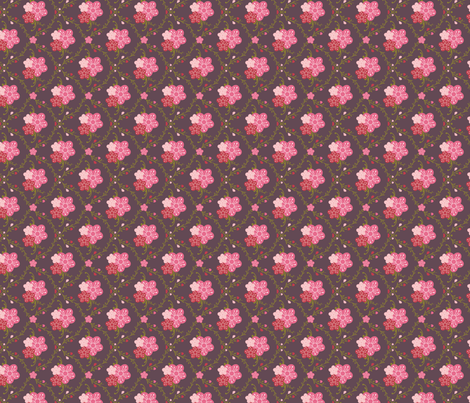 PlumBlossom fabric by nikkibutlerdesign on Spoonflower - custom fabric