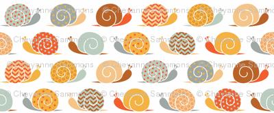 snails on parade