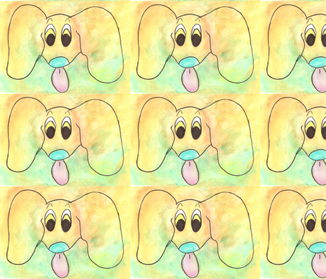 JoeyDog fabric by timbergrain on Spoonflower - custom fabric