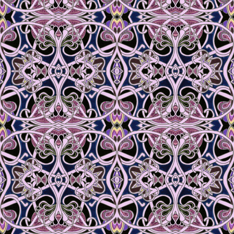 It Was A Dark and Gothic Night fabric by edsel2084 on Spoonflower - custom fabric
