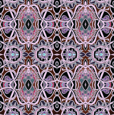 Where the Vampires Play fabric by edsel2084 on Spoonflower - custom fabric