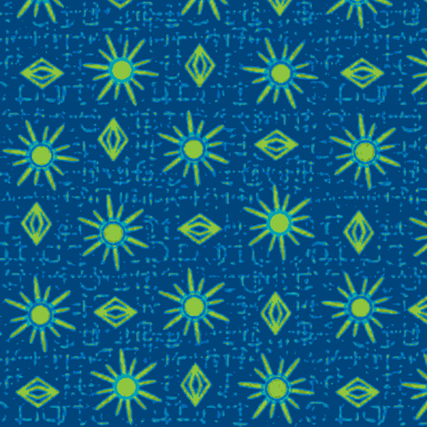 gypsy ocean fabric by glimmericks on Spoonflower - custom fabric