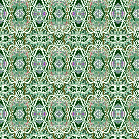 Entangled Green Tango fabric by edsel2084 on Spoonflower - custom fabric