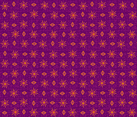 gypsy raspberry tea fabric by glimmericks on Spoonflower - custom fabric