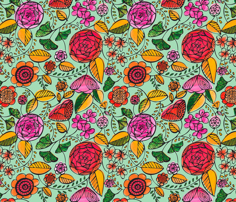 Garden Variety fabric by acbeilke on Spoonflower - custom fabric