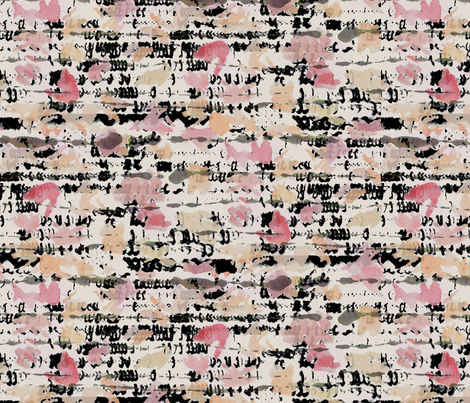Dancing Brushes fabric by tiffany_wu on Spoonflower - custom fabric