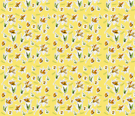 Fleur Fields fabric by macgregor-art on Spoonflower - custom fabric
