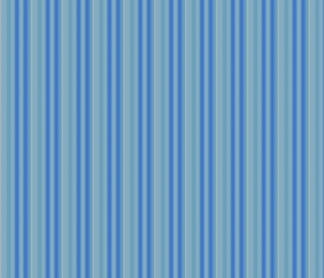 Blue and Aqua Soft Stripe © Gingezel™ 2012 fabric by gingezel on Spoonflower - custom fabric