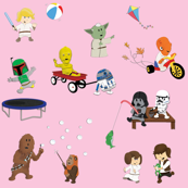 Star Wars Kids - Pink