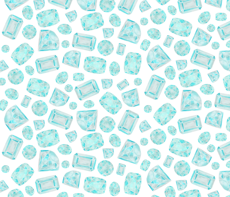 bedazzled fabric by bubbledog on Spoonflower - custom fabric