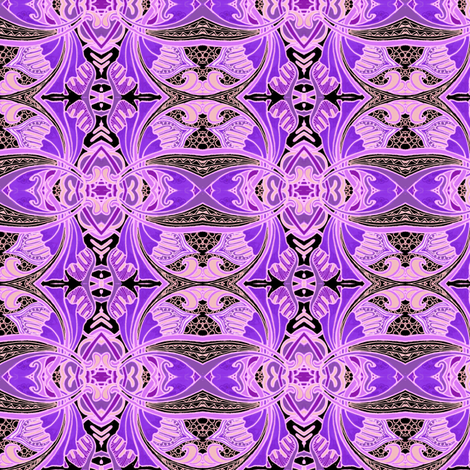 Purple Persian fabric by edsel2084 on Spoonflower - custom fabric
