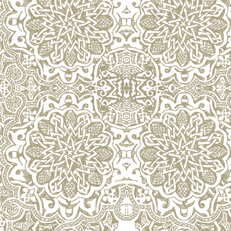 Moorish _stone fabric by bee&lotus on Spoonflower - custom fabric