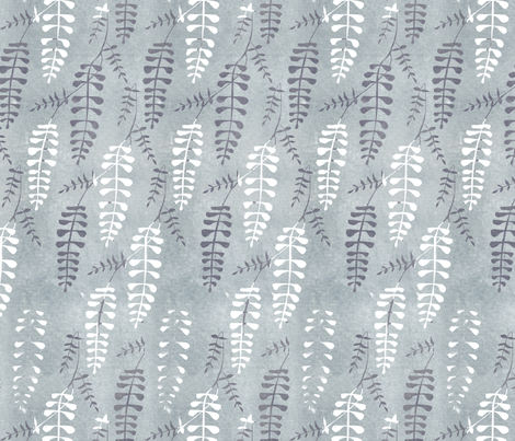 wisteria_repeat7 fabric by sary on Spoonflower - custom fabric