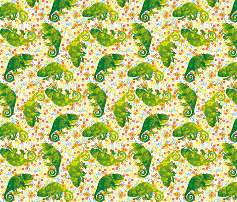 chameleonbuntneu fabric by johanna_design on Spoonflower - custom fabric