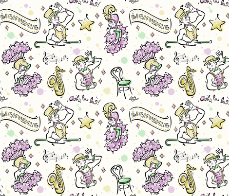 Spectacular by Andy Bauer fabric by andybauer on Spoonflower - custom fabric