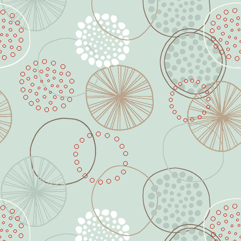 1_Wheels & Dots fabric by angeyake on Spoonflower - custom fabric