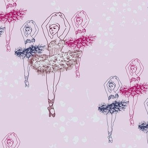 Pen&Ink Ballerina