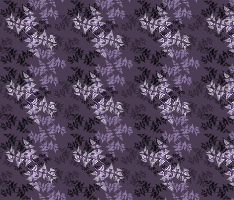FabFerns4 fabric by wendysheridan on Spoonflower - custom fabric