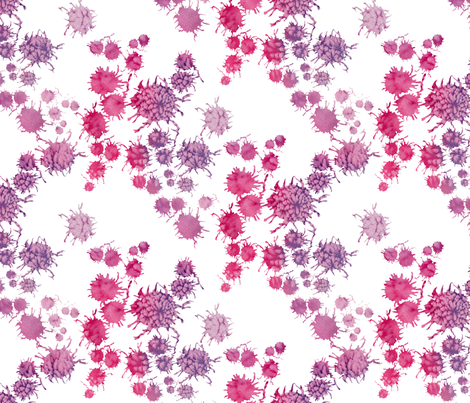 Berries fabric by ruthevelyn on Spoonflower - custom fabric
