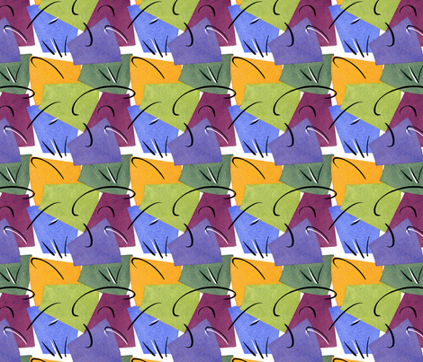 ColorWheel fabric by positivenegative on Spoonflower - custom fabric