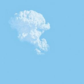 White Fluffy Clouds 1, L