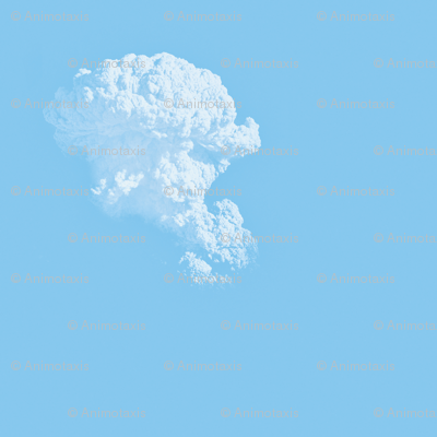 White Fluffy Clouds 1, S