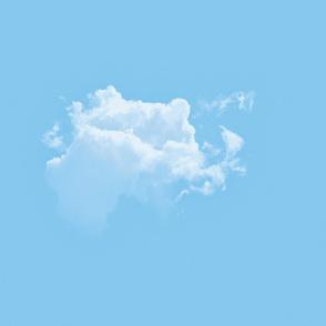 White Fluffy Clouds 2, L
