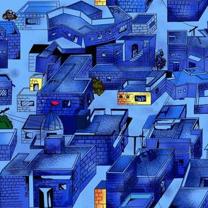 Brahmpuri: the blue city