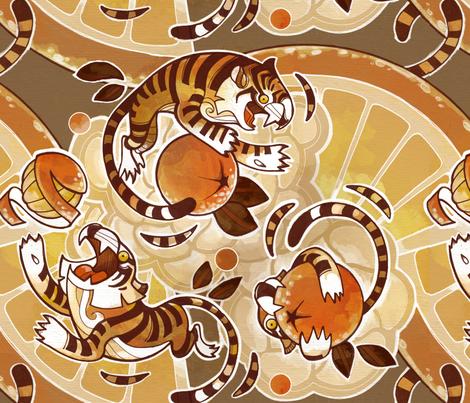 Citrus Circus fabric by wbeckert on Spoonflower - custom fabric