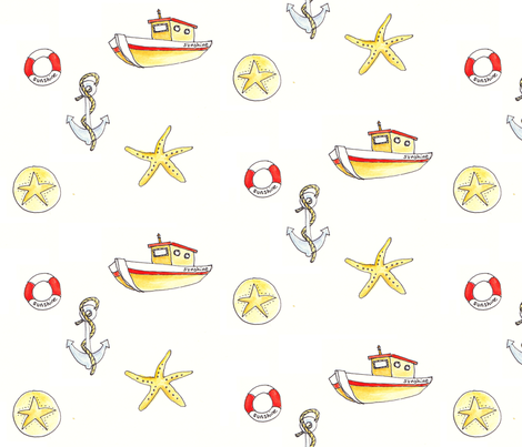 nautica fabric by maliperdeaux on Spoonflower - custom fabric