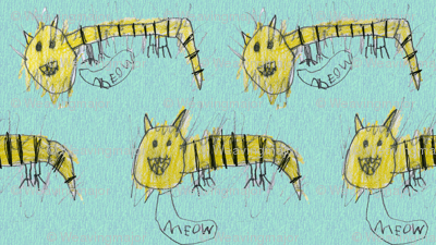 Bubbie's tiger cats