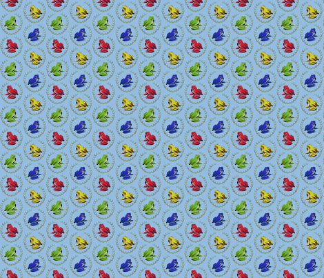 Kerokero fabric by cherryandcinnamon on Spoonflower - custom fabric