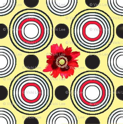 Retrocentric Poppy Circles