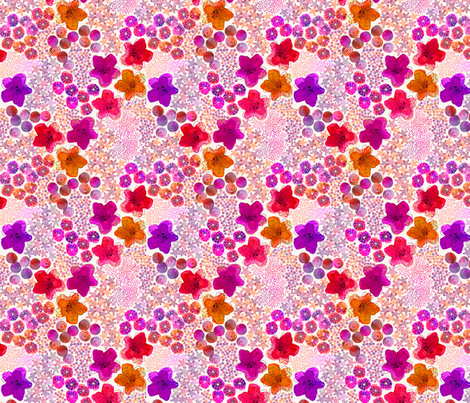 summer_burst fabric by melsmithdesigns on Spoonflower - custom fabric