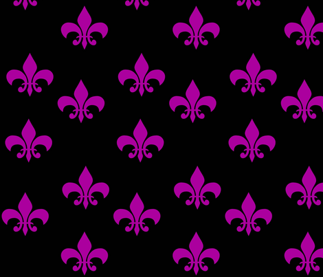 Fleur de Lis fabric by sharpestudiosdesigns on Spoonflower - custom fabric