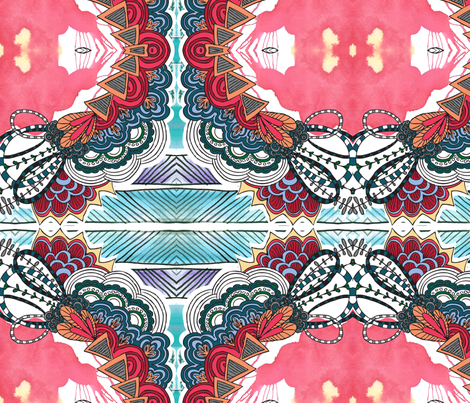 Chaneinkme fabric by the_frogging_fox on Spoonflower - custom fabric