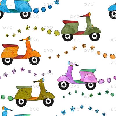 Beep Beep: Mod Scooters