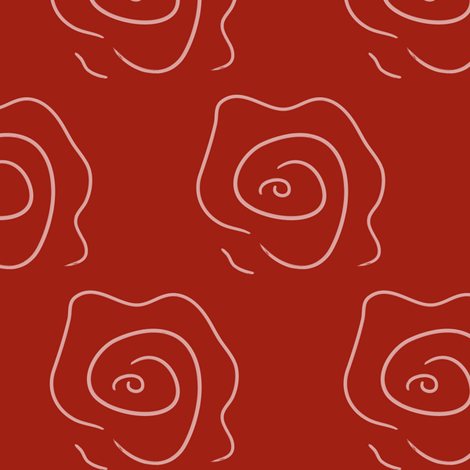 rose_pattern fabric by artsycanvasgirl on Spoonflower - custom fabric